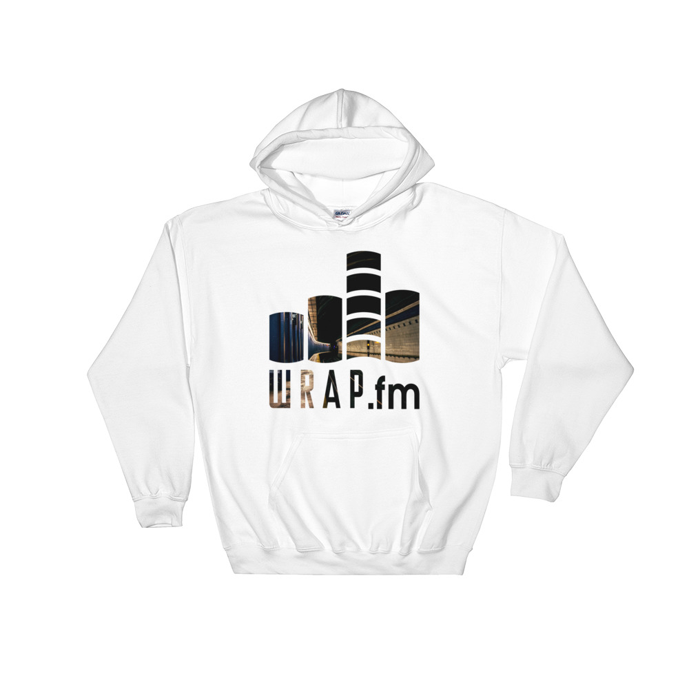 WRAP.fm High St Pullover Hoodie