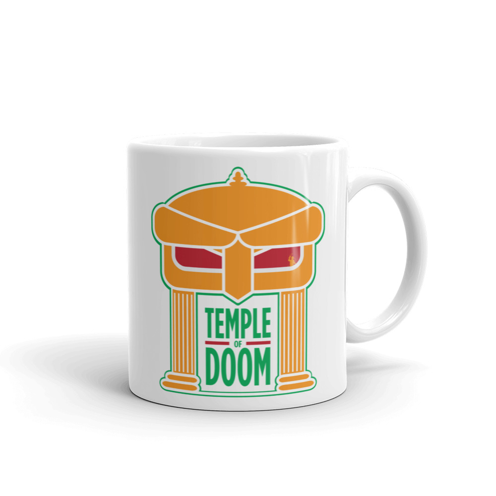 Metal Face Mug
