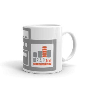WRAP.fm Boombox Mug