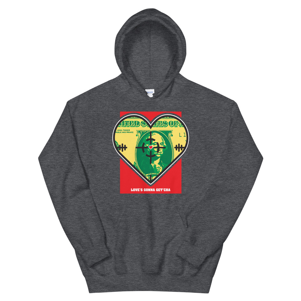 Watch Out For Love Pullover Hoodie
