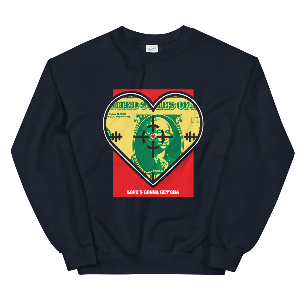 Watch Out For Love Crewneck Sweatshirt