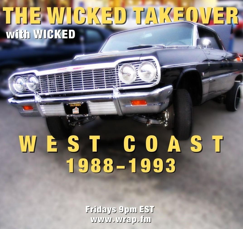 west coast Hip hop 1988 1993