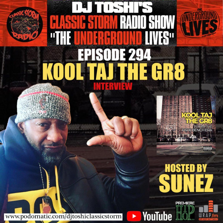 Dj Toshi Sunez Classic Storm Radio Kool Taj The Gr8 P. General