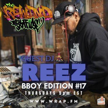 DJ Reez DJ Safire The Rweind hip hop BBoy Edition